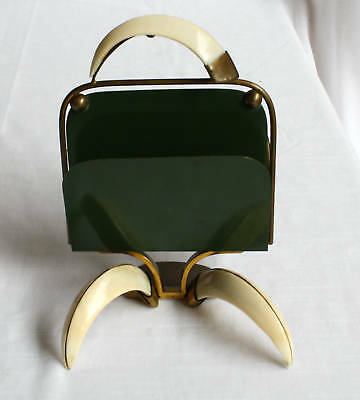 Magnificent French Art Deco Bronze Metal Letter Holder