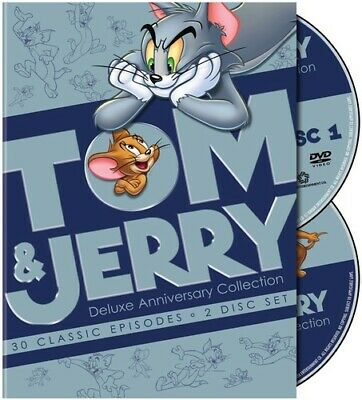 Tom and Jerry: Deluxe Anniversary Collection [2 Discs] (2010, DVD NEW)
