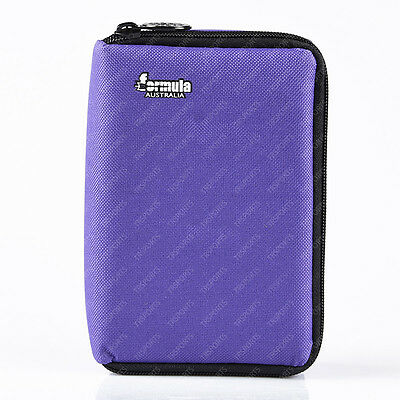 Formula Compact Dart Case Purple for 3 Darts & Accessories Free Postage 405704