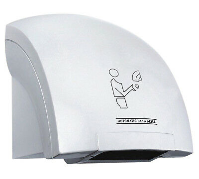 Electric Automatic Hand Dryer Warm Air Stream Washroom Restaurant Toilet 240v