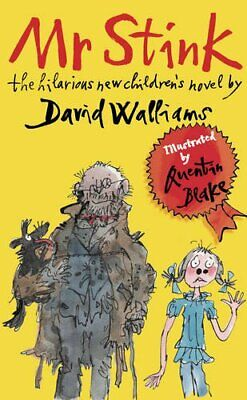 Mr Stink by Walliams, David Hardback Book The Cheap Fast Free Post