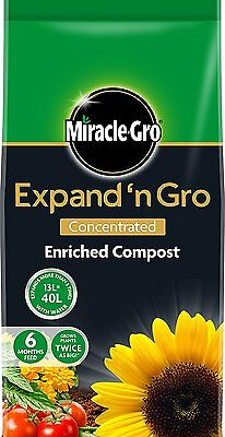 Miracle Gro Expand n Grow Concentrated Enriched Garden Compost 50 Litres