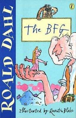 The BFG (Puffin Fiction) by Dahl, Roald Paperback Book The Cheap Fast Free Post