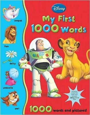 Disney First 1000 Words: My Big Book of Words, Walt Disney Productions Hardback
