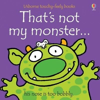 That's Not My Monster (Usborne Touchy Feely Books), Wells, Rachel Board book The
