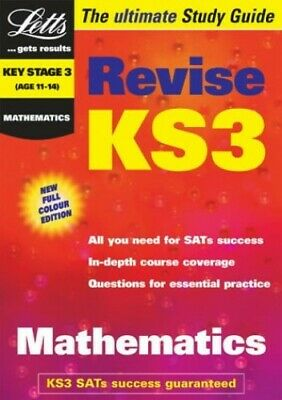 Key Stage 3 Maths Study Guide (KS3 Revision)... by Educational Experts Paperback