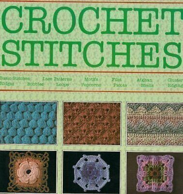 """Harmony"" Guide to Crochet Stitches Paperback Book The Cheap Fast Free Post"