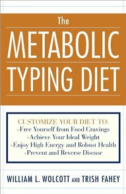 The Metabolic Typing Diet by Wolcott, William Linz Paperback Book The Cheap Fast