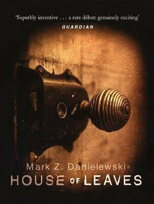 House of Leaves by Danielewski, MZ Paperback Book The Cheap Fast Free Post