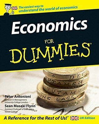Economics For Dummies by Sean Masaki Flynn Paperback Book The Cheap Fast Free