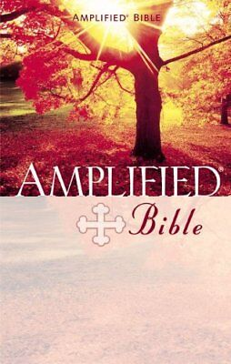Amplified Bible-AM, Zondervan Hardback Book The Cheap Fast Free Post