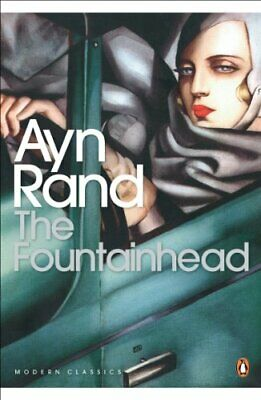 The Fountainhead by Rand, Ayn Paperback Book The Cheap Fast Free Post