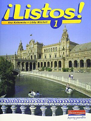 Listos 1 Pupils Book (Listos for 11-14) by Mitchell, Libby Paperback Book The