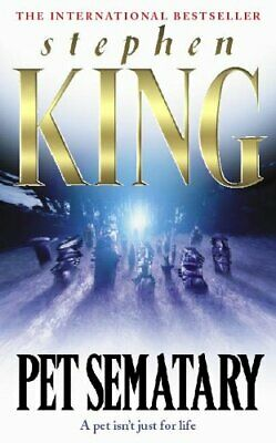 Pet Sematary (Summer read) by King, Stephen Paperback Book The Cheap Fast Free