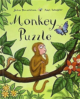 Monkey Puzzle, Donaldson, Julia Hardback Book The Cheap Fast Free Post