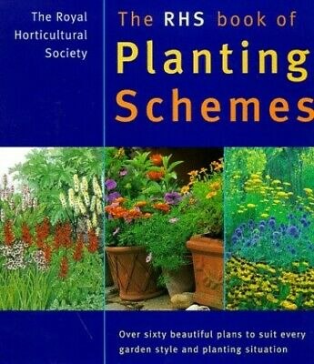 The RHS Book of Planting Schemes Hardback Book The Cheap Fast Free Post