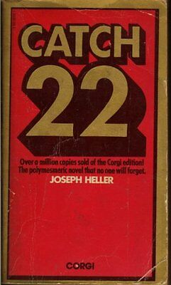 Catch-22, Heller, Joseph Paperback Book The Cheap Fast Free Post