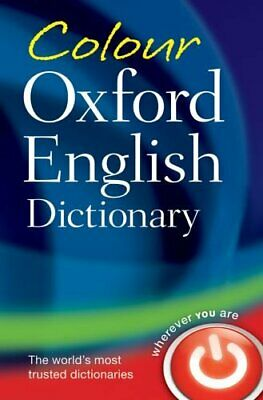 Colour Oxford English Dictionary by Oxford Dictionaries Paperback Book The Cheap
