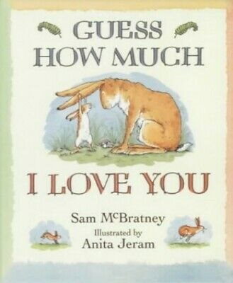 Guess How Much I Love You (Little Favourites) by Sam McBratney Hardback Book The