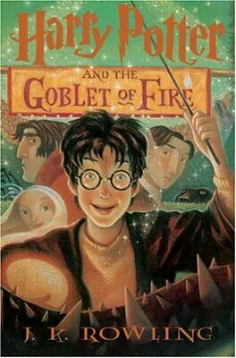 Harry Potter and the Goblet of Fire: Book 4 by J.K. Rowling Book The Cheap Fast