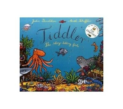 Tiddler: The story-telling fish, Donaldson, Julia Paperback Book The Cheap Fast