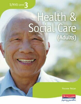 S/NVQ Level 3 Health and Social Care Candidate Hand... by Yvonne Nolan Paperback
