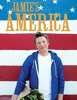 Jamie's America, Oliver, Jamie Hardback Book The Cheap Fast Free Post