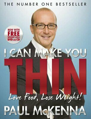 I Can Make You Thin - Love Food, Lose Weight: New ... by McKenna, Paul Paperback