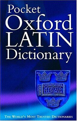 The Pocket Oxford Latin Dictionary by Moorwood, James Paperback Book The Cheap