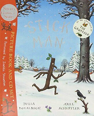 Stick Man Book & CD by Donaldson, Julia Mixed media product Book The Cheap Fast