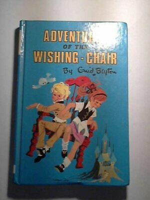 Adventures of the Wishing-chair by Blyton, Enid Hardback Book The Cheap Fast