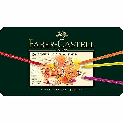 Faber Castell  Polychromos Artists QualityColour Pencils 120 Tin Set RRP £249.99