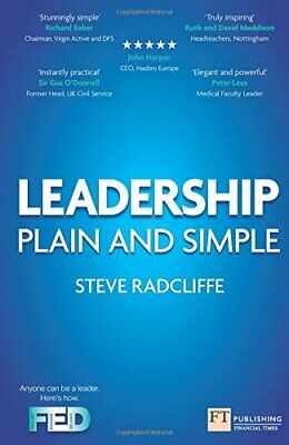 Leadership:Plain and Simple: Plain and Simple (2nd Editio... by Radcliffe, Steve