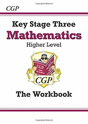 KS3 Maths Workbook - Higher (CGP KS3 Maths) by Parsons, Richard Paperback Book