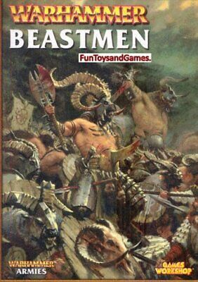 Beastmen Army Book (Warhammer Armies) by Hoare Andy Kelly Phil Paperback Book