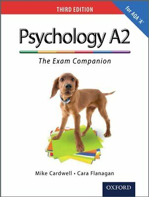 The Complete Companions: A2 Exam Companion for AQA A Psycho... by Cardwell, Mike