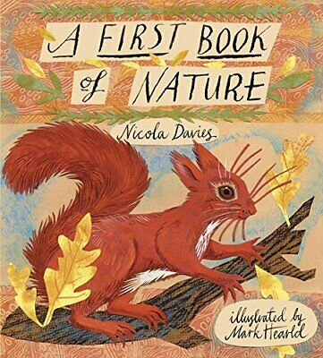A First Book of Nature by Davies, Nicola Book The Cheap Fast Free Post