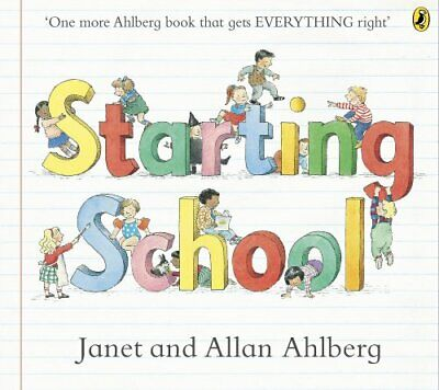 Starting School (Picture Puffins) by Ahlberg, Janet Book The Cheap Fast Free