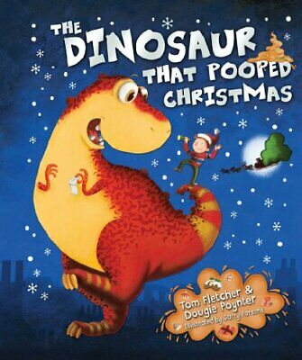The Dinosaur That Pooped Christmas! by Poynter, Dougie Book The Cheap Fast Free