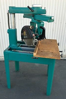 "Rockwell 12"" Radial Arm Saw 12-RAS 220V 3-Phase"