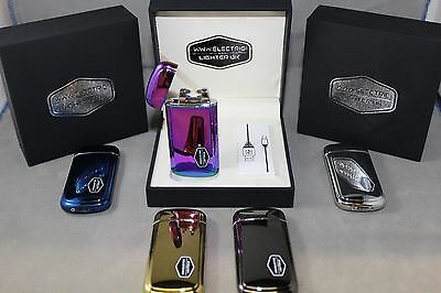 Shake Usb Arc Lighter Electric  Flameless Double Arc Coil Rechargeable New