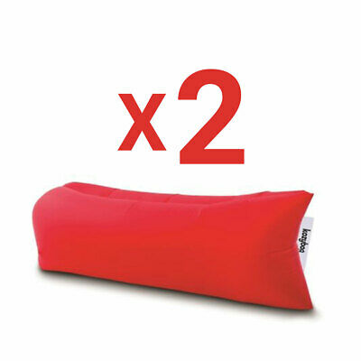 Inflatable Fast Portable Lounger Seat Camping Bed Bag shipped from Montreal