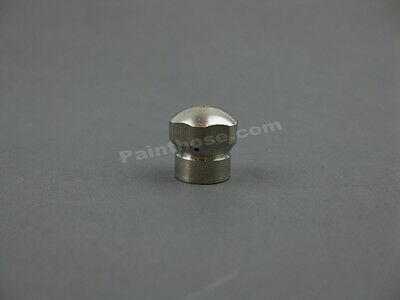"""MTM Hydro 17.0852 Rotating Sewer Nozzle ss Brass 1//8/"""" NPTF 5.5"""