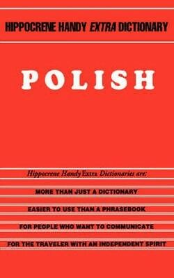 Polish Handy Extra Dictionary by Krystyna Olszer Paperback Book (English)