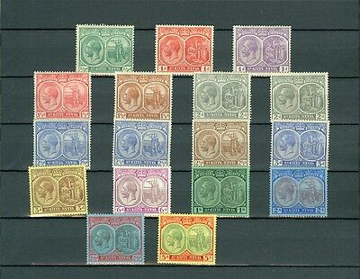 ST KITTS : Beautiful collection all Mint OG & in Very Fine Condition SG Cat £287