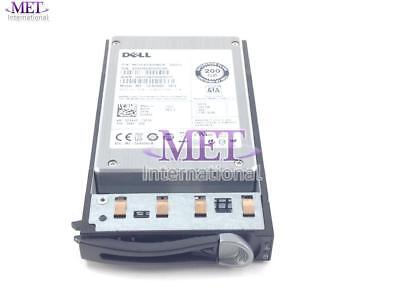 LOT OF 8 DELL 200GB 3GPS 2.5'' SOLID STATE DRIVE FOR POWEREDGE C6105 w/ TRAY