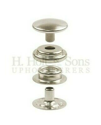 Snap Fasteners - 316 Stainless Steel - Press studs - Marine Grade - 10 Sets