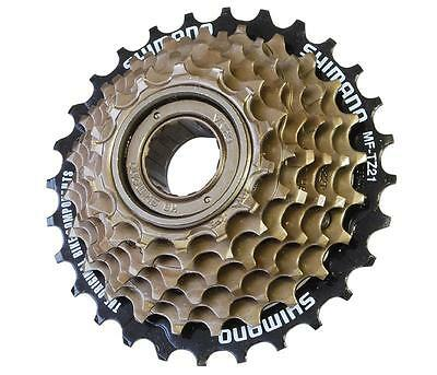 seven 7 Speed Screw on Bike Freewheel 14 - 28   Shimano  MF-TZ21  Tourney  y67