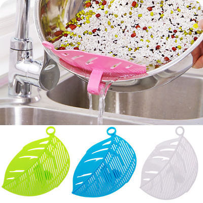 Practial Cute Plastic Kitchen Rice Beans Washing Cleaning Kitchen Tool Gadget CA