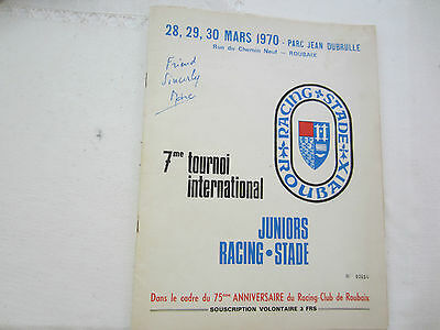 1970 Youth Cup Tournament Bristol C,bradford C, Sporting De Portugal,marseille +